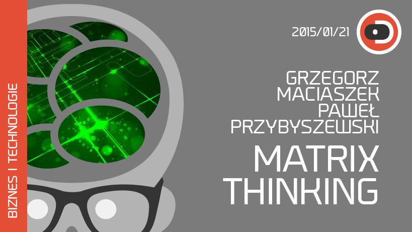 Dekompresor: Matrix Thinking